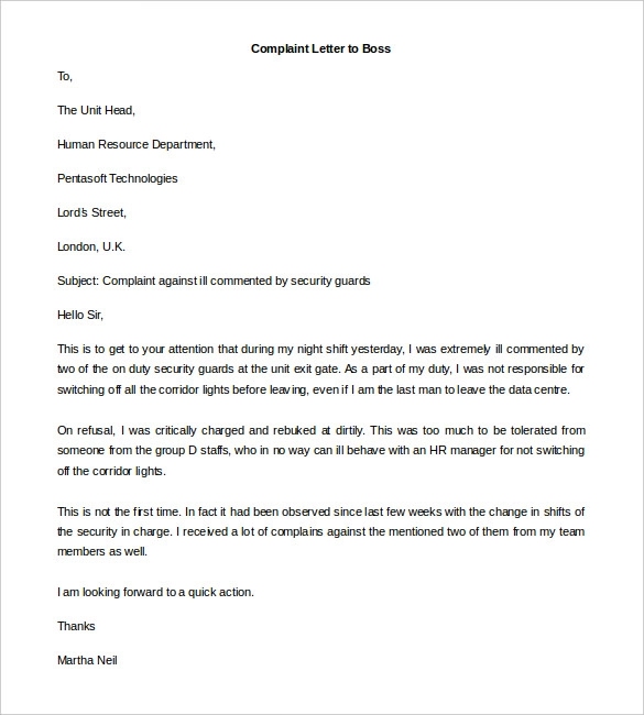 14+ complaint letter templates lettering, technology skills to put on resume warehouse associate for deployment engineer