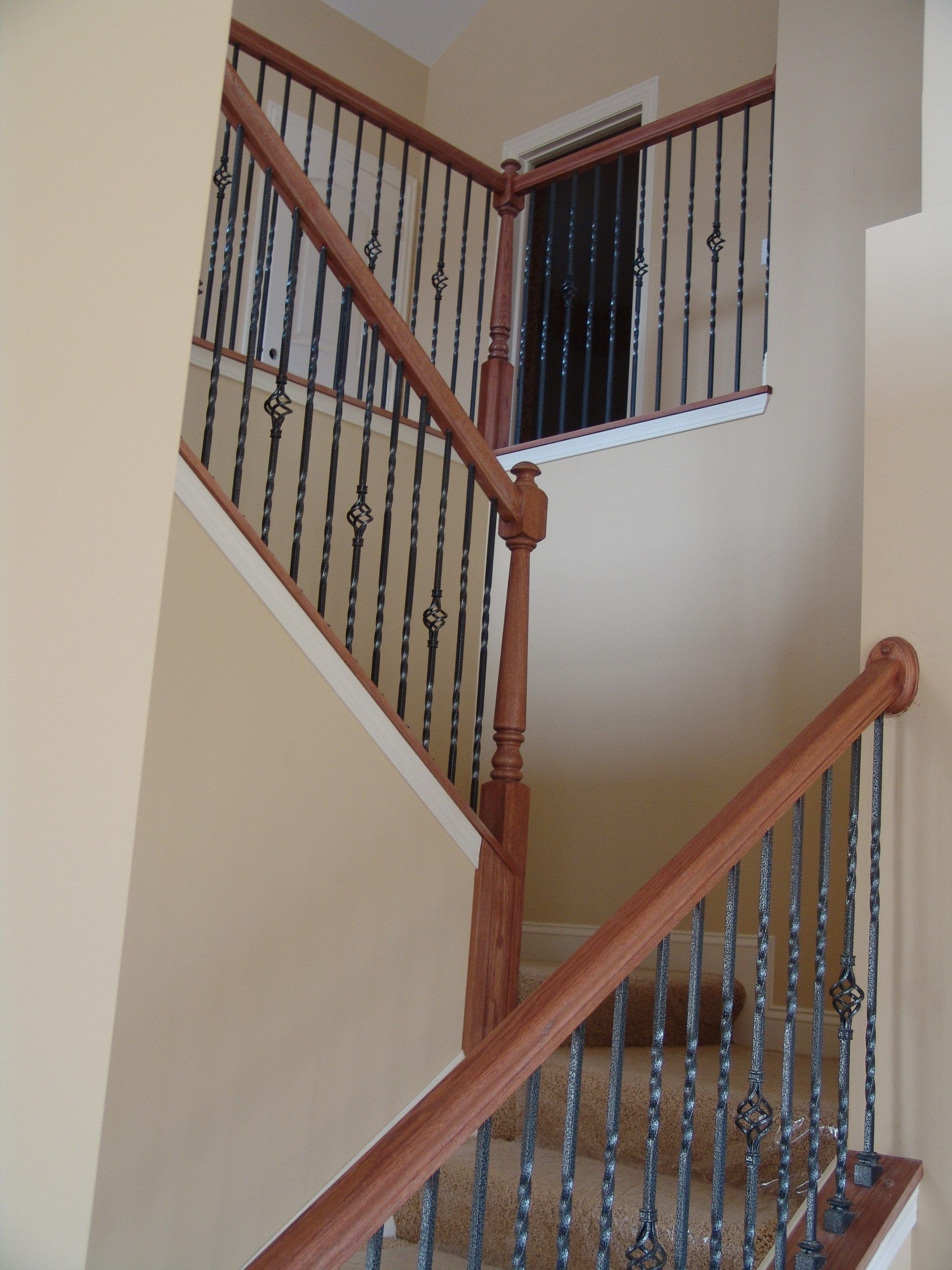 Best 16 1 2 T Double Twist Hollow Iron Baluster Iron Balusters Cheap Stair Parts Stairs 400 x 300