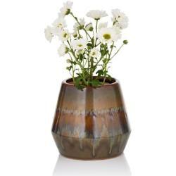 Mit dieser Blumenvase bleiben kaum Wünsche offen, wenn es um ein geschmackvoll dekoriertes Zuhause geht! Sie ist aus Keramik gefertigt. Haben wir bei Ihnen die Lust zum Umdekorieren geweckt? Dann ordern Sie die Blumenvase gleich jetzt und schon in Kürze wird sie Ihr Zuhause verschönern!