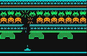 space invaders genser