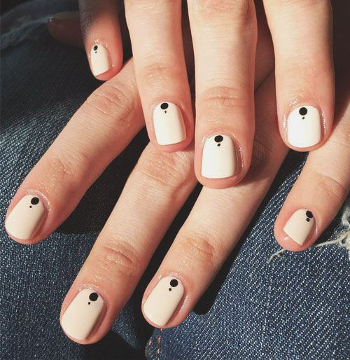 Nail Art Simple 2 Warna: 50 Fabulous Nail Designs And Colors For Spring