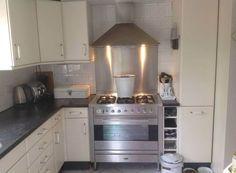 Was een beuken fineer keuken en nu ....:)