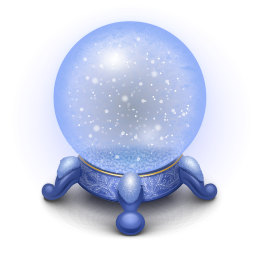 Snowy Weather Crystal Ball Icon Png Clipart Image Crystal Ball Snowy Weather Crystals