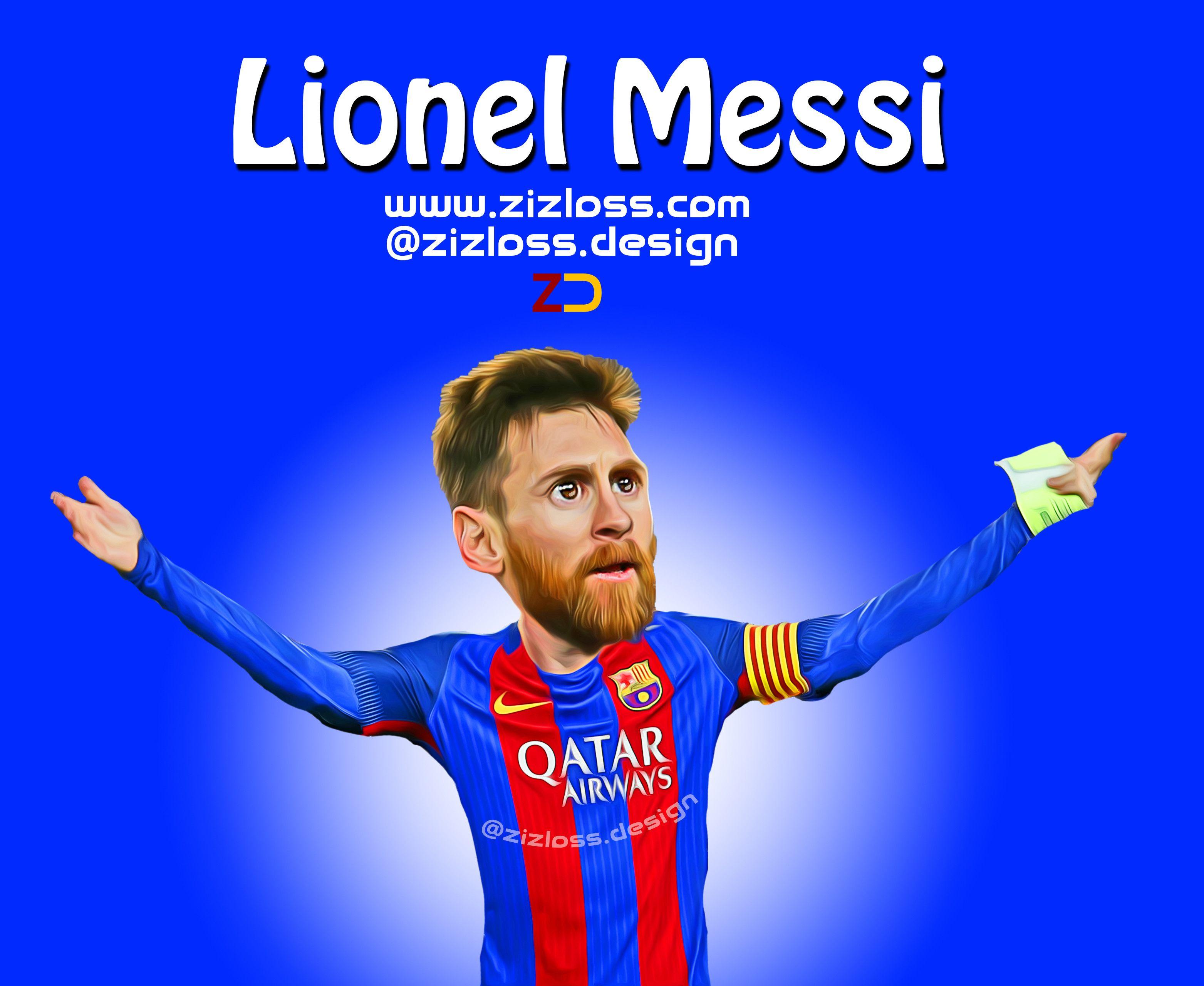 Lionel Messi ليونيل ميسي Messi Caricature Lionel Messi