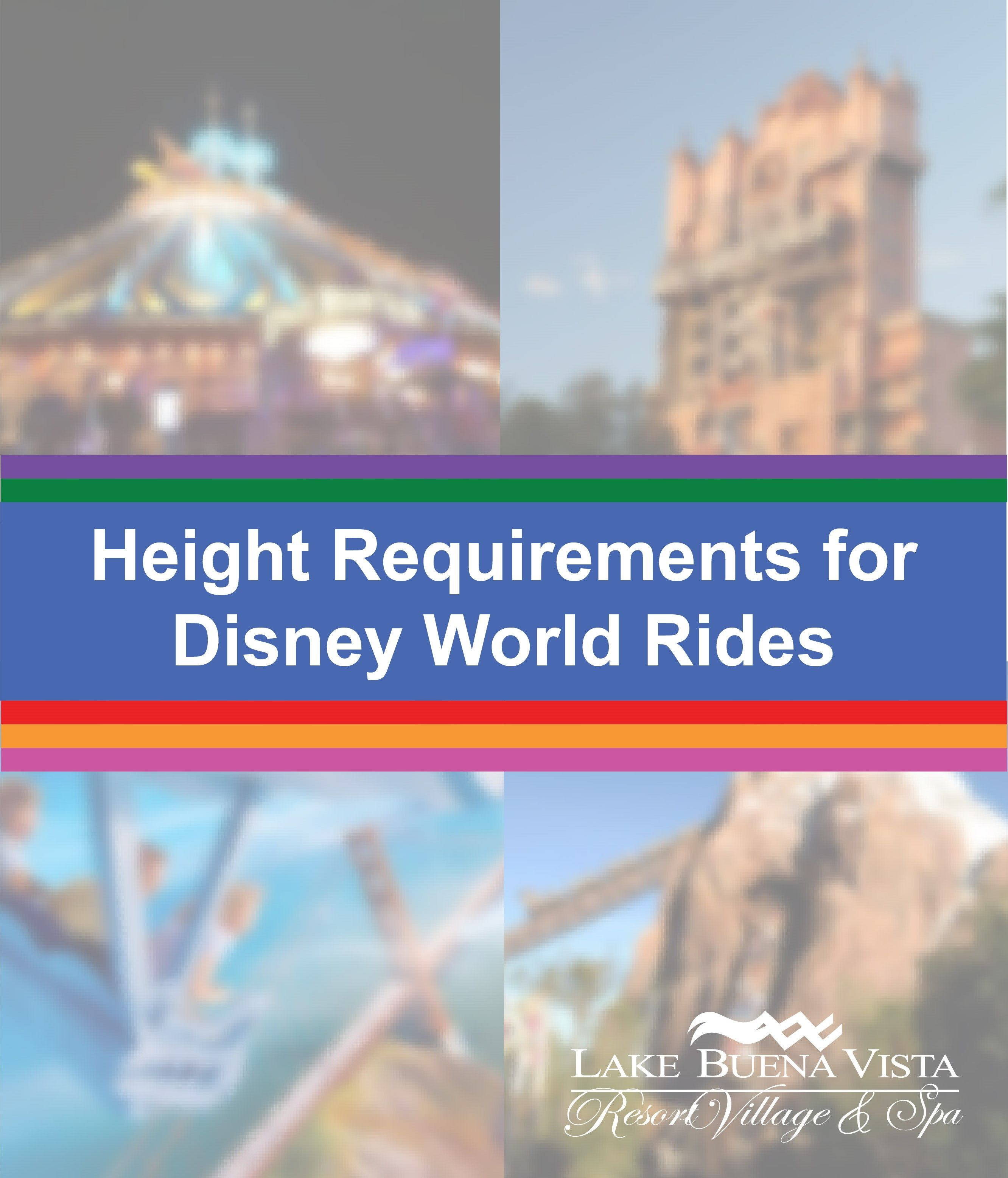 Height Requirements for Disney World Rides- Blog Post
