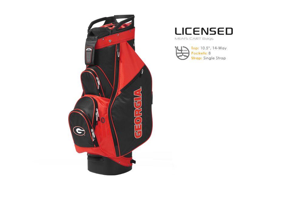Golf Bags Men S Licensed Collegiate Cart Bag University Of Georgia Sun Mountain With College Logo