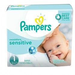 Pack économique De 230 Couches Pampers New Baby Sensitive De Taille