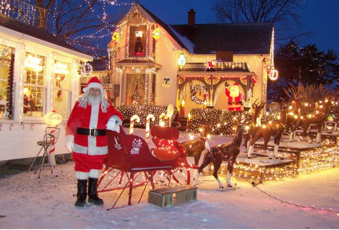 Best Christmas Towns.Here Are The Top 9 Christmas Towns In Indiana They Re