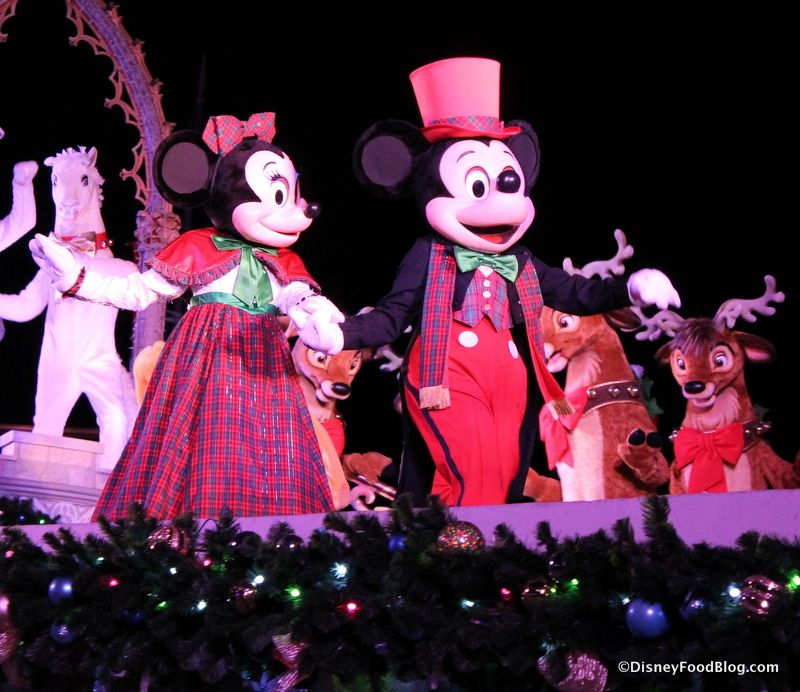 Review Mickey S Very Merry Christmas Party Treats The Disney Food Blog Mickeys Very Merry Christmas Party Very Merry Christmas Party Mickey S Very Merry Christmas