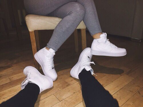 couple matching nike air force