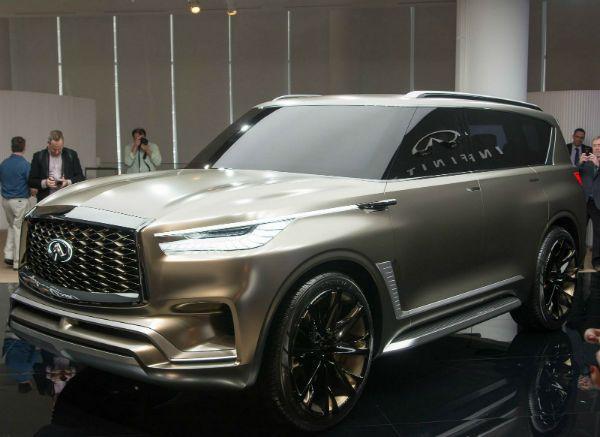 2020 Infiniti Qx80 Luxury Suv Suv New Infiniti