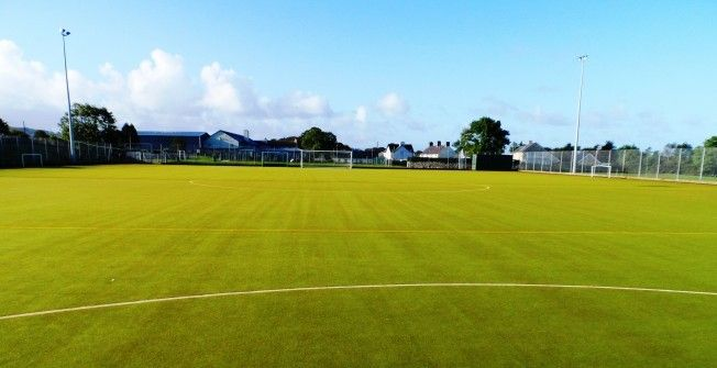 Synthetic All Weather Surface
