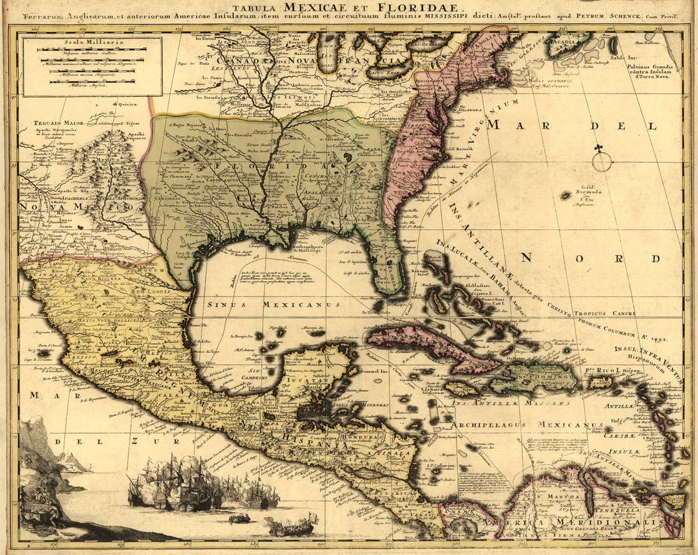 Details About  MAP America Mexico Beautiful Detail NEW - Early maps of america