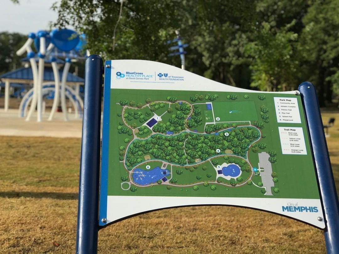 We can't get enough of David Carnes Park! David Carnes is the first BlueCross Blue Shields Healthy P...