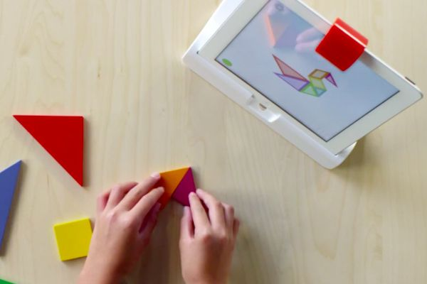 The Osmo Leap Motion style iPad games are not only educational and unique but also fun as you play beyond the screen!