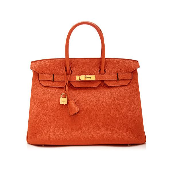 Heritage Auctions Special Collections 35Cm Hermes Orange H Togo Leather Birkin