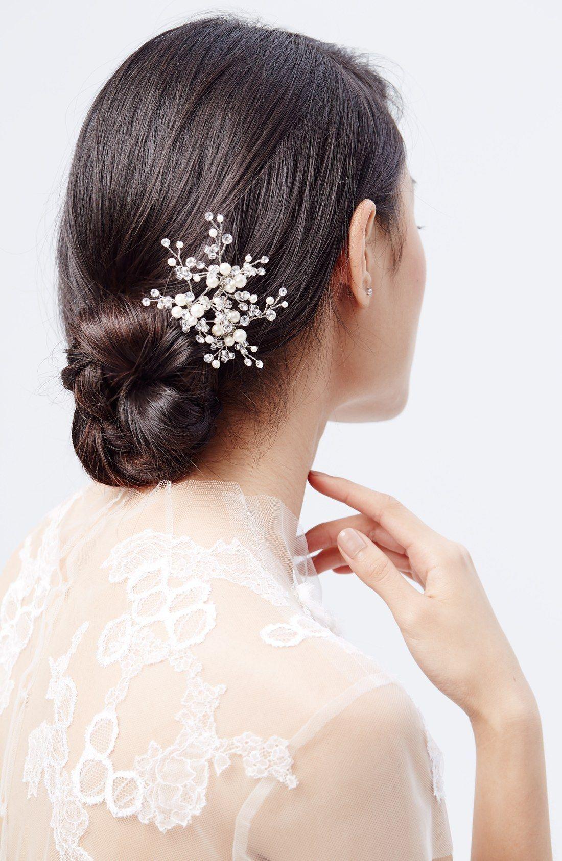 wedding belles new york 'poppy' hair pin   wedding