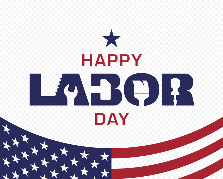 Happy Labor Day Usa Logo Labor Day Usa Happy Labor Day Happy