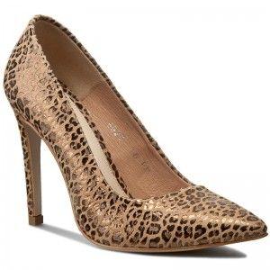 Szpilki Baldaccini 652300 C Bez Panterka Heels Kitten Heels Shoes