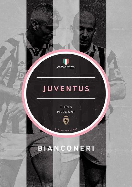 Football Italia On Behance Football Poster Juventus Football