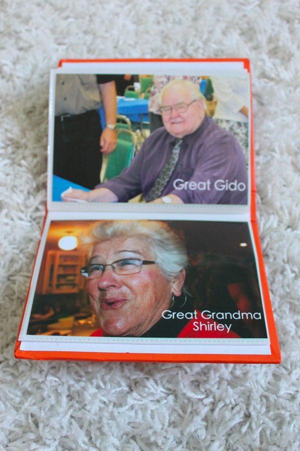 Family and Friends Photo Book - Mama. Papa. Bubba.