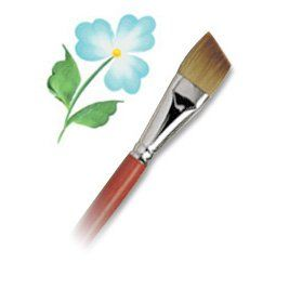 Langnickel Combo Angular Brush Artist Paint Brush L306012inch Single Check This Awesome Product B With Images Folk Art Flowers Decorative Painting Projects Art Basics