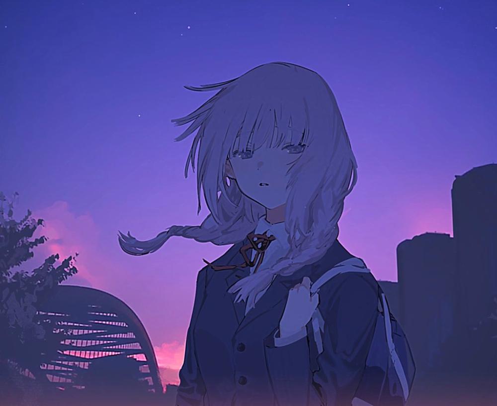 Syusi On Twitter In 2020 Anime Art Girl Cute Anime Character Anime Art