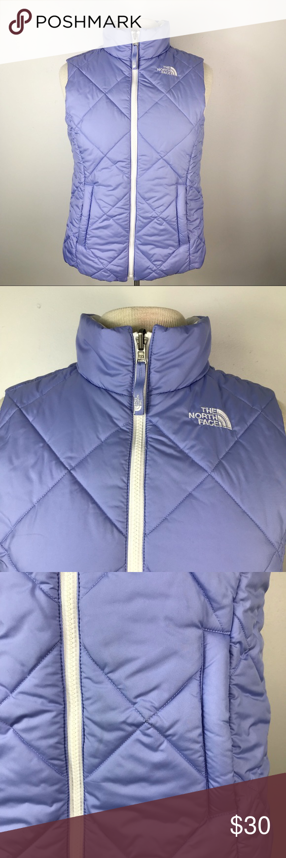 North Face Reversible Puffy Youth Vest The North Face North Face Girls Vest [ 1740 x 580 Pixel ]