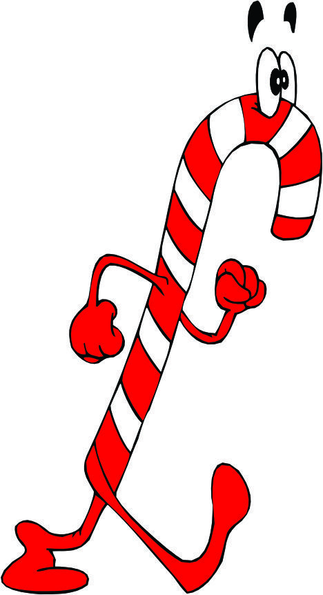 christmas cartoon candy cane clip art clip art. Black Bedroom Furniture Sets. Home Design Ideas