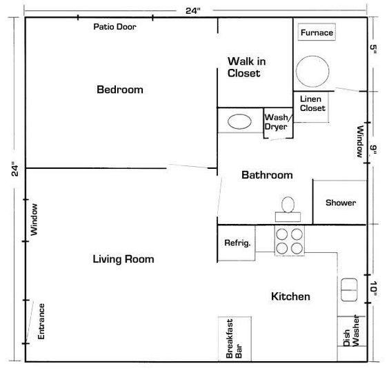 Mother In Law Suite Garage Floor Plan By Georgi Anne