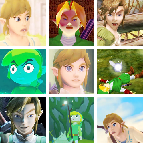 The Best Faces Of Link So Majestic Xd Loz Art Legend Of