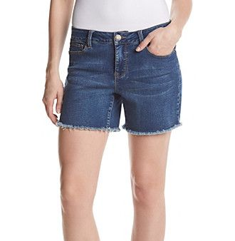 Relativity® Raw Hem Shorts
