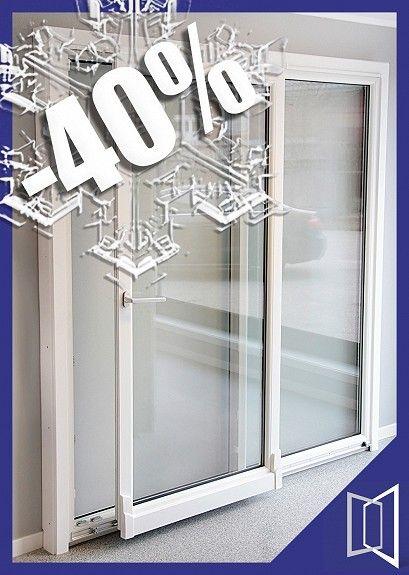 Vinterkampanje -40% PVC Skyvedør 199x209cm - FINN Torget