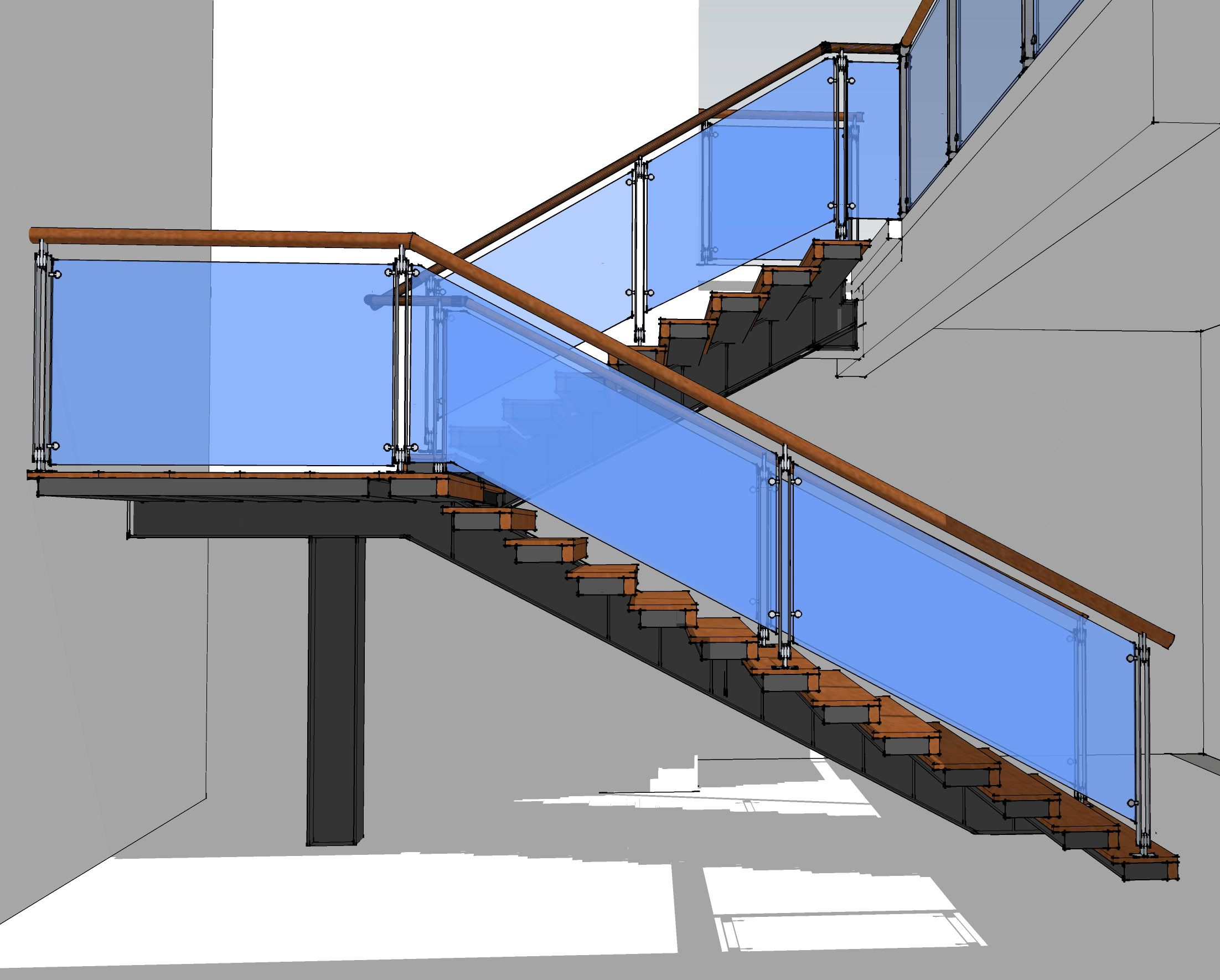 Best A Modern Cantilever Staircase In Steel And Wood 400 x 300