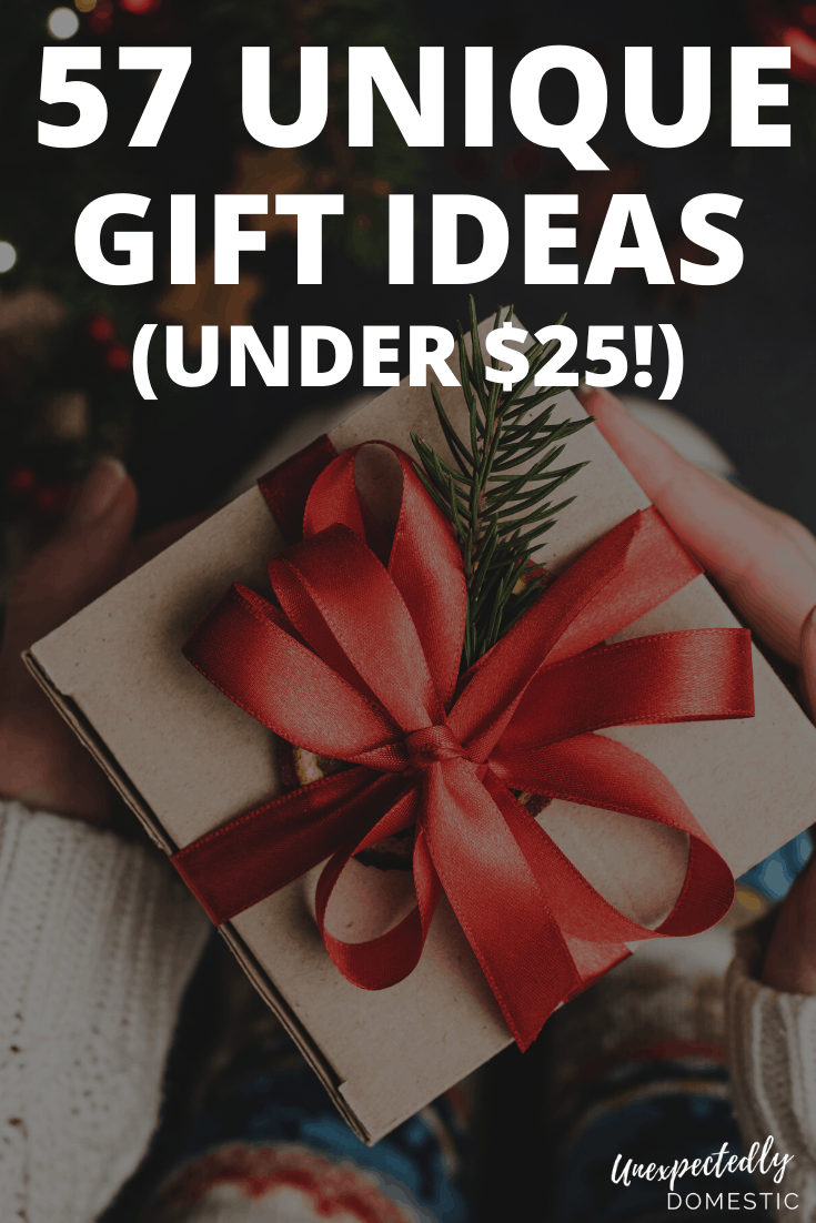 57 Creative Unique Gift Ideas Under 25 That People Will Love Unisex Gifts Unisex Christmas Gifts Gifts