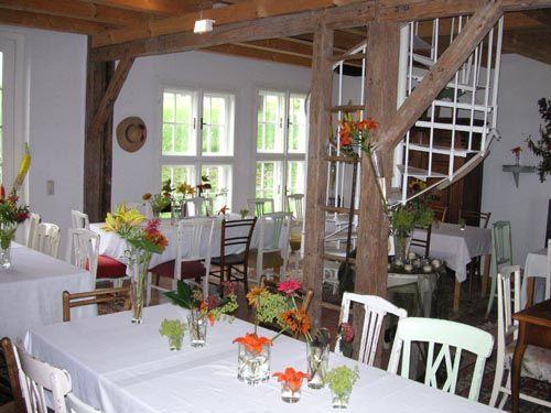 Gartencafé inside