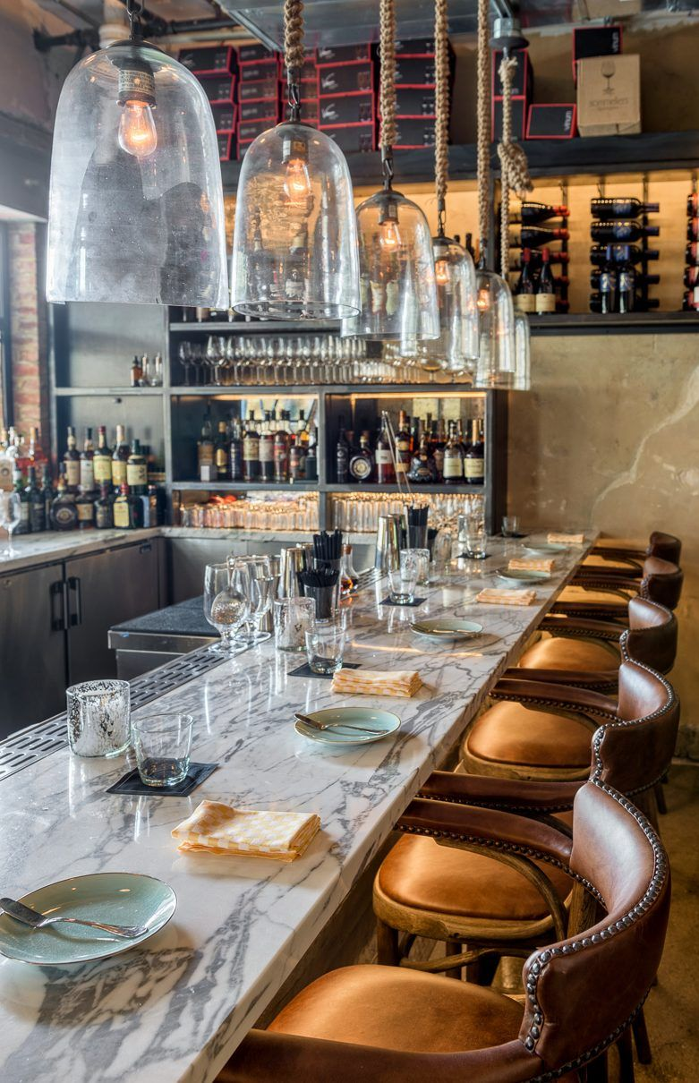 The Design Of E Located In Midst Working Warehouses Near Union Market Takes Chic To A New Level Washingtonian