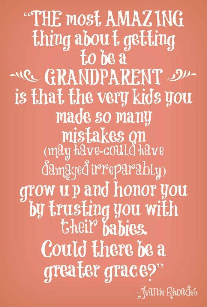 Being a grandparent grandparent quote #grandparentquotes | One of ...