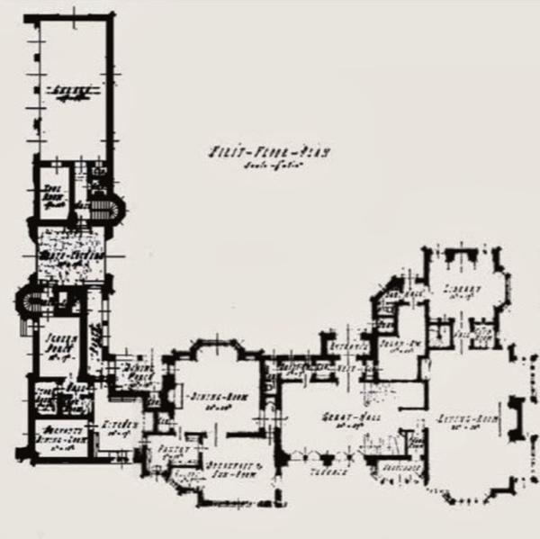 Playboy mansion floorplan pinterest mansions the o for Floor plans los angeles