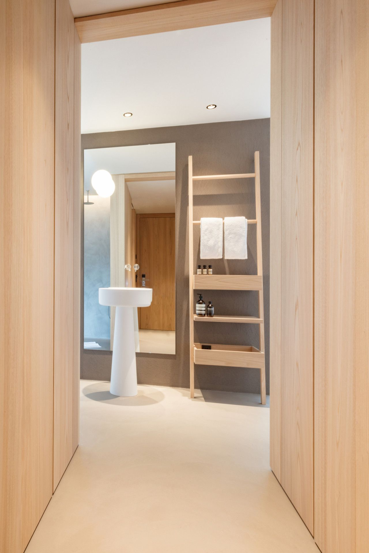 Minimalist Hotel Room: Hotel Schgaguler: A Minimalist Hotel Surrounded By The
