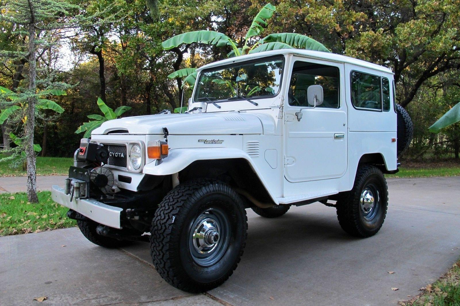 Toyota land cruiser ebay