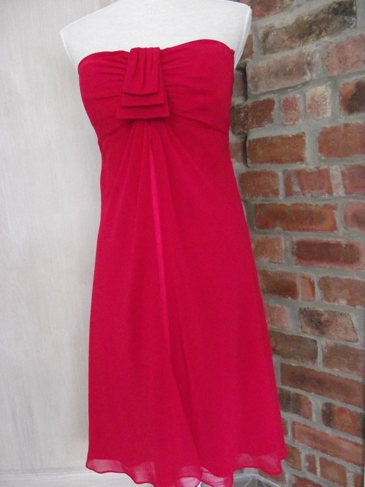 Debut? Stunning Size 14 Red Floaty Occasion