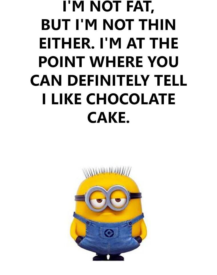 Funny Fat Pictures With Quotes : funny, pictures, quotes, Minion, Quotes, Humor
