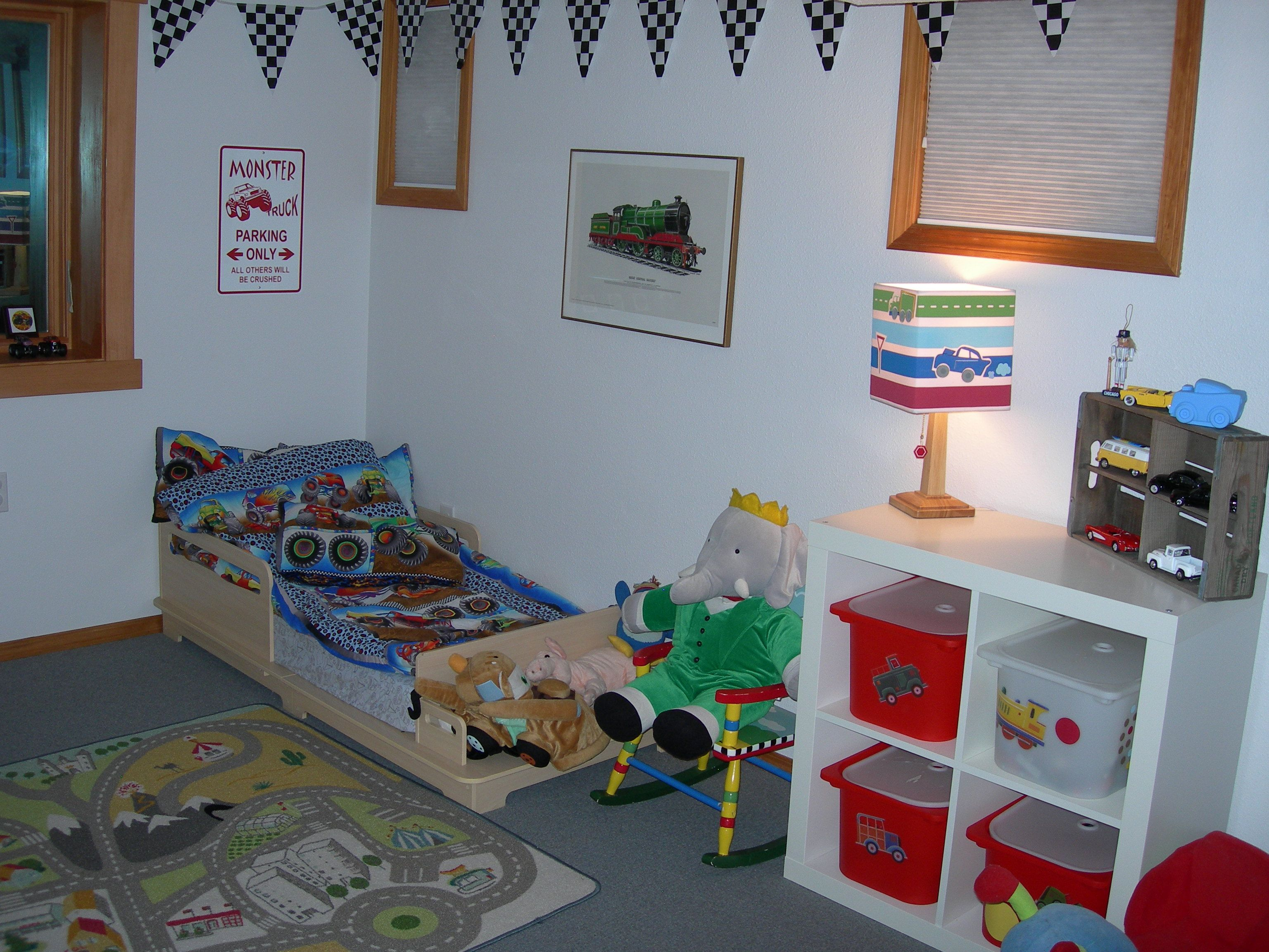 weston and walker s room on an exceptionally clean day they are not