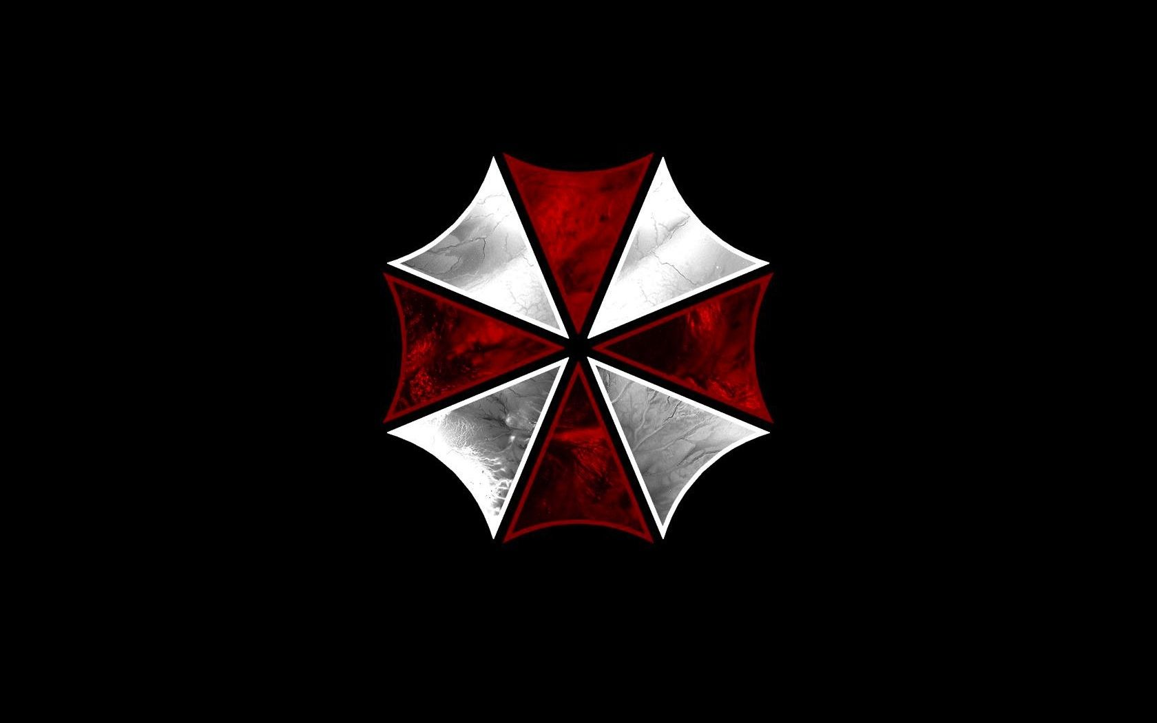 Resident Evil Umbrella Corp Black Background 1680x1050 Wallpaper