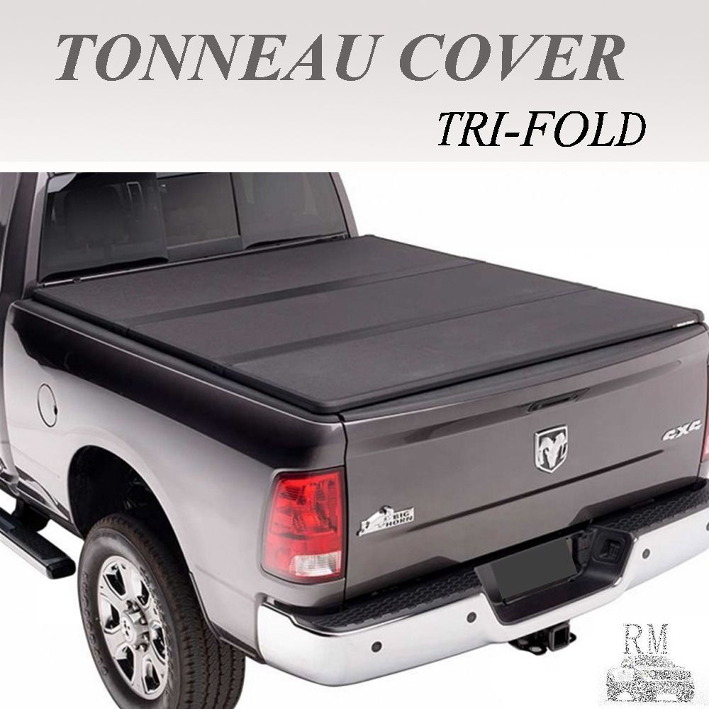 Lock TriFold Hard Solid Tonneau Cover Fit 20052015