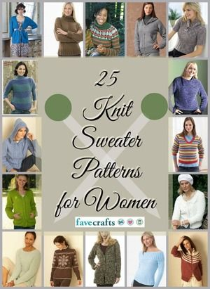 25 Free Knitted Sweater Patterns For Women Pinterest Patterns