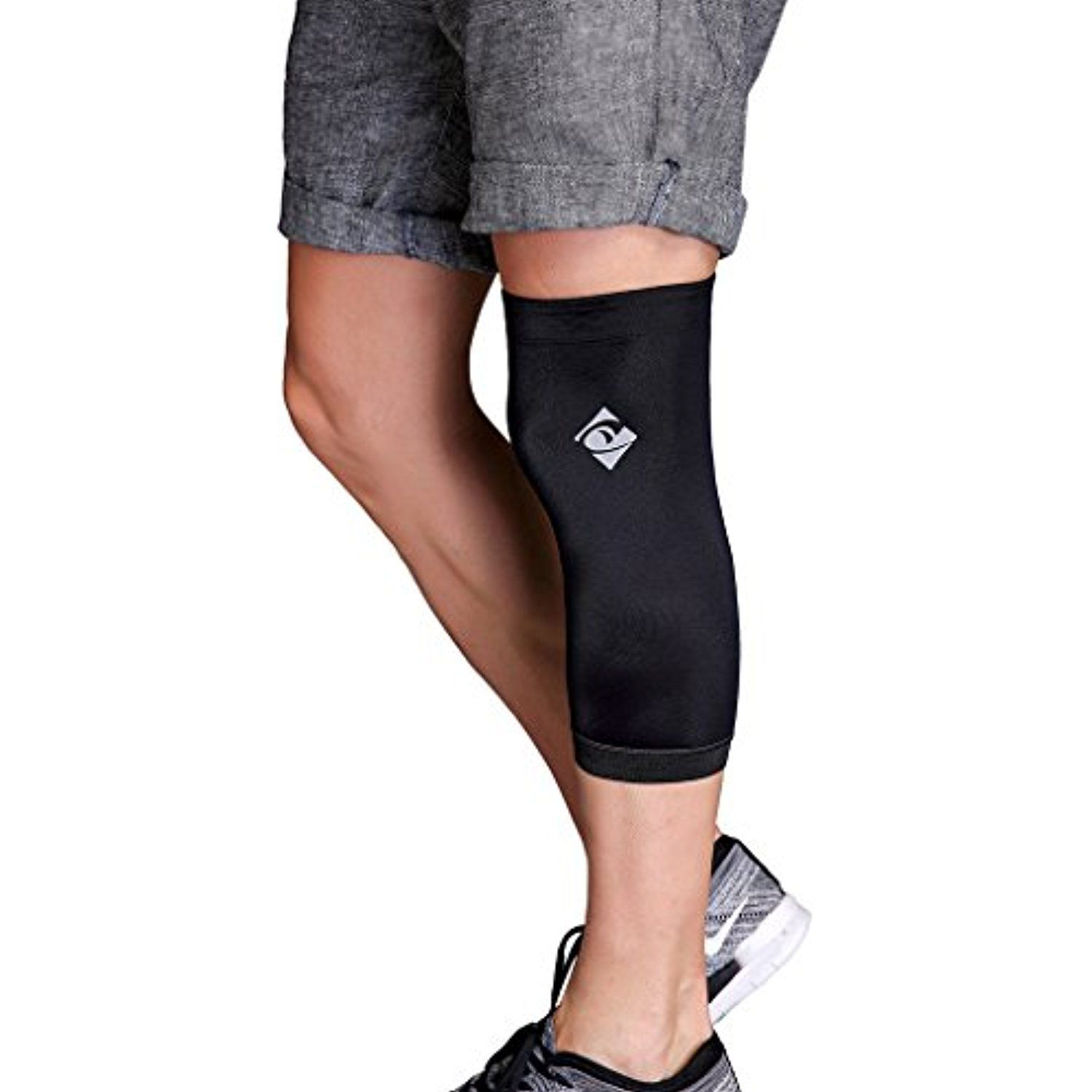 c5dfe31eae Copper Knee Brace With Infused Fit By Cotill - Knee Support Compression  Sleeve For Sports,