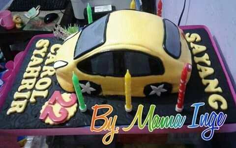Pin Oleh Mariyanthi Onggi Di Kue Ultah Kue Mobil