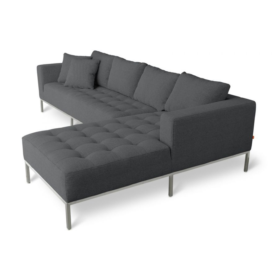Gus Modern Carter Sectional Sofa Chair Modern Sofa Sectional Sectional Sofa Modern Sectional